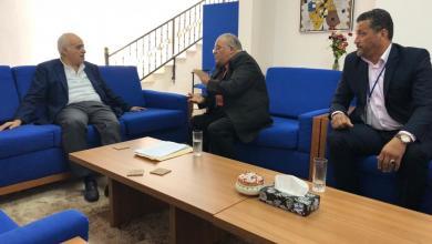 غسان سلامة - عميد بلدية الزاوية جمال عبد الناصر