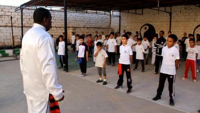 Photo of مواهب ليبية في رياضة الووشو والكونغ فو