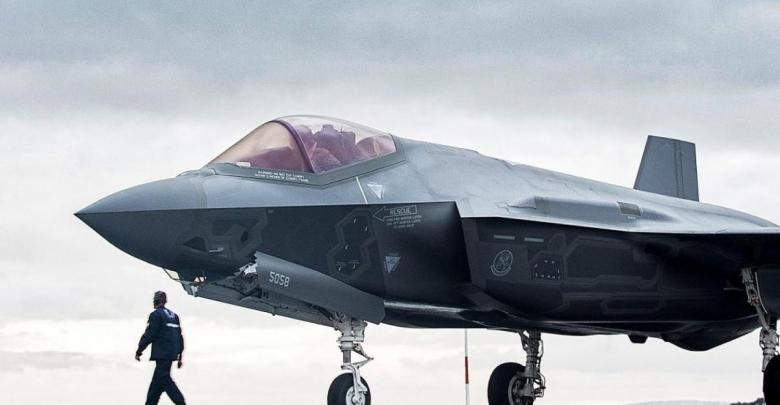 مقاتلة أميركية من طراز (F-35)