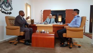 صورة معاناة جالو الأمنية على طاولة وزير الداخلية