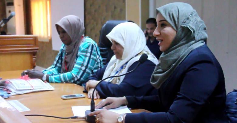 جانب من حفل اختام الدورة - بنغازي