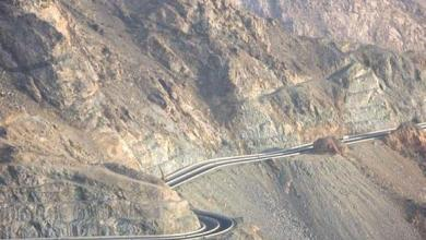 """صورة """"أخطر طريق"""" في العالم.. ربما """"عربي"""". شاهد"""