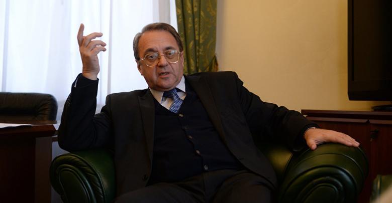 نائب وزير الخارجية الروسي ميخائيل بوغنداف