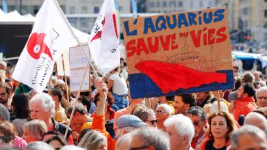 "Photo of ""إنقاذ اللاجئين"" يُحرّك مظاهرات أوروبية واسعة"