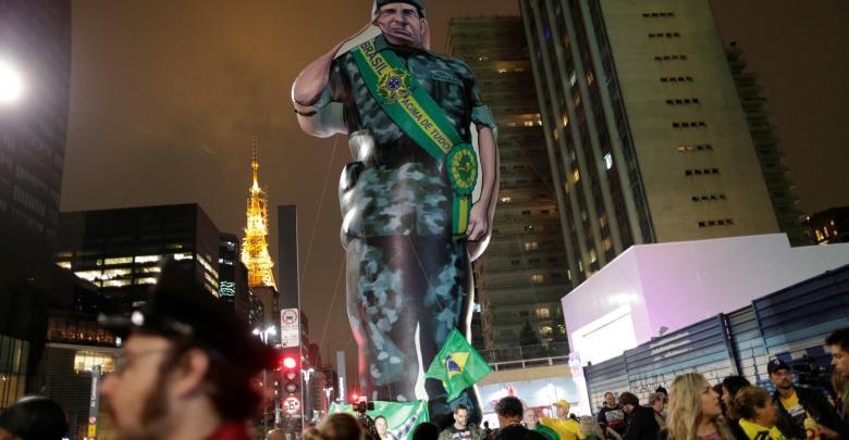 مسيرة لأنصار المرشح البرازيلي جايير بولسونارو
