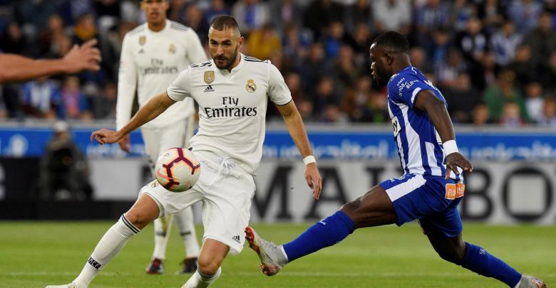 ديبورتيفو آلفيس ضد ريال مدريد