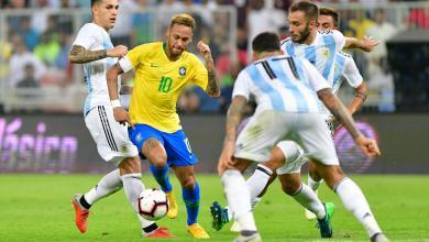 البرازيل ضد الأرجنتين في بطولة ودية