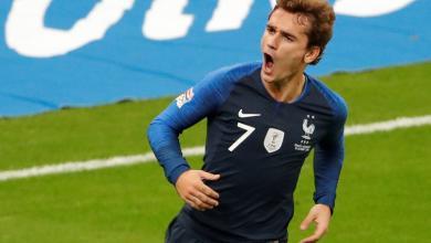 اللاعب الفرنسي أنطوان غريزمان