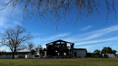 صورة الحكم بالسجن على أميركي أحرق مسجداً في تكساس