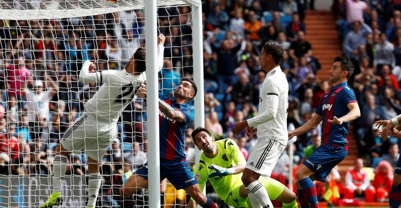 مباراة فريق ليفانتي وريال مدريد