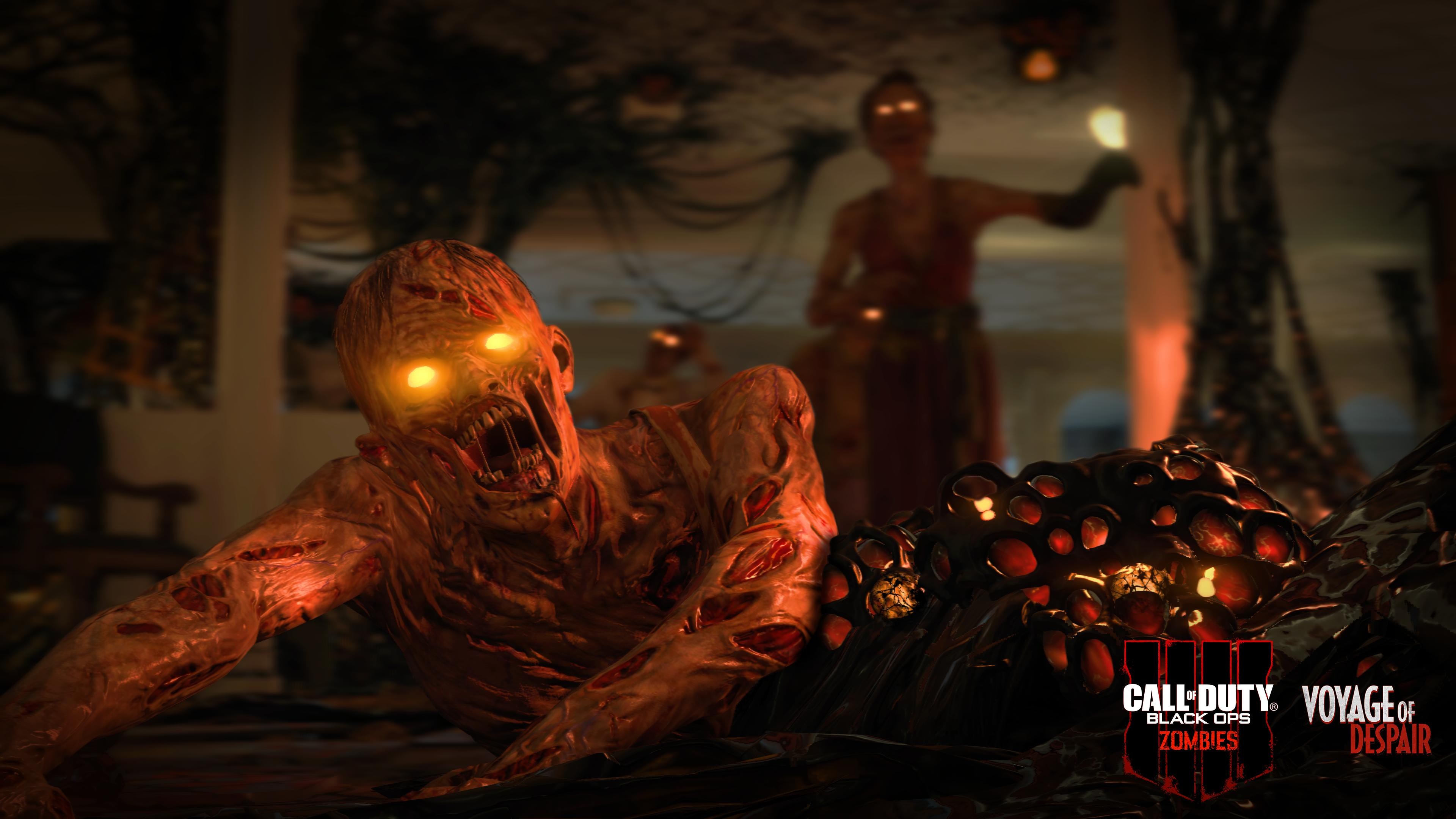 طور Zombies في لعبة Call of Duty : Black Ops 4