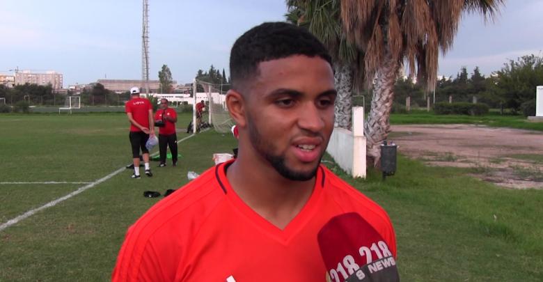 اللاعب الليبي إسماعيل التاجوري
