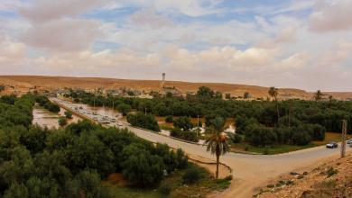 Photo of أمطار غزيرة تُفرح أهالي بني وليد