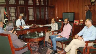 اجتماع لجنة الأورام في السفارة الليبية بتونس