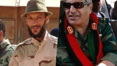 اللواء الراحل عبد الفتاح يونس والرائد شمس الدين المبروك الصويعي