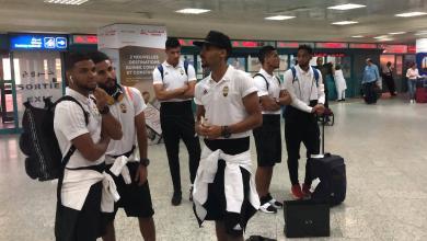 المنتخبِ الوطنيّ في مطار تونس
