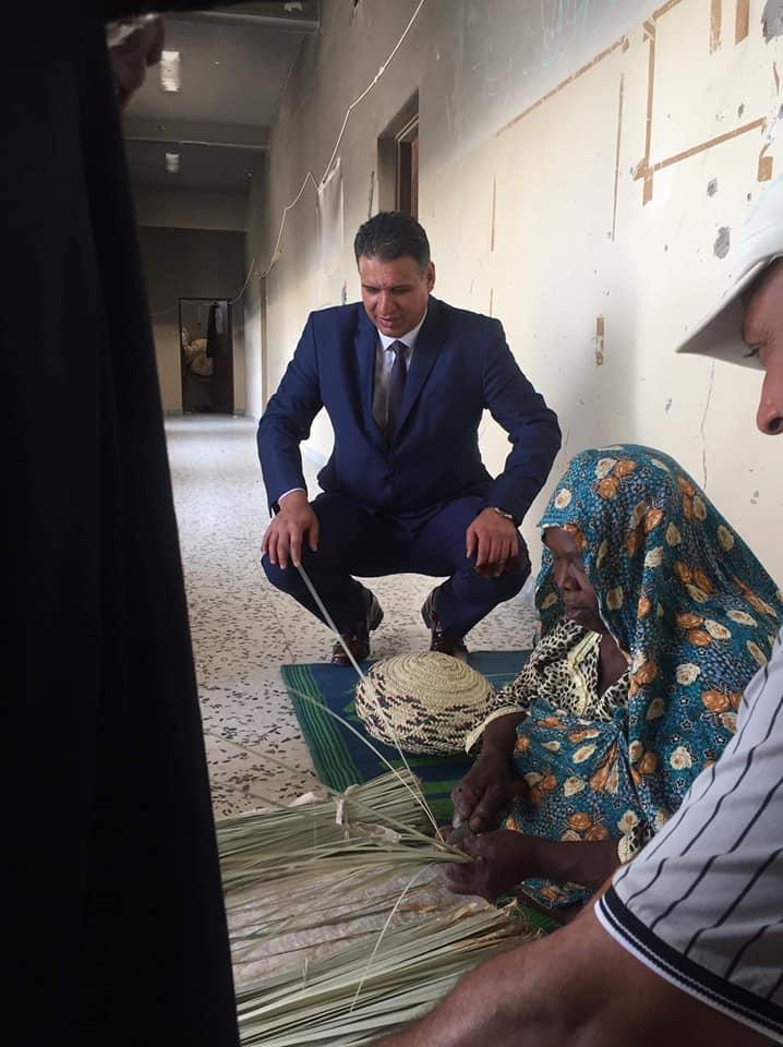 عضو البرلمان يزور تاورغاء