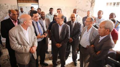 زيارة وفد حكومة الوفاق إلى تاورغاء