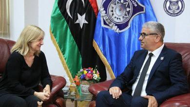 باشاغا يبحث مع سفيرة فرنسا أمن ليبيا وملف المهاجرين