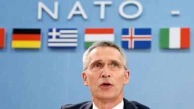 الأمين العام لحلف شمال الأطلسي الناتو ينس ستولتنبيرج