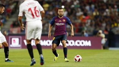 مباراةُ برشلونة وإشبيلية