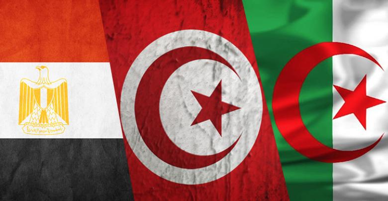 تونس والجزائر ومصر