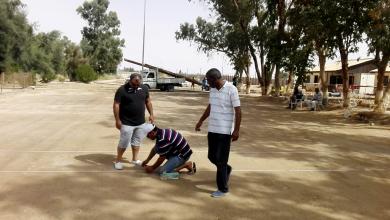 استعدادات في مدينة هون لانطلاق بطولة ليبيا للكرة الحديدية