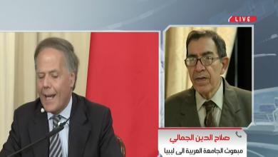 مبعوث الجامعة العربية إلى ليبيا صلاح الدين الجمالي