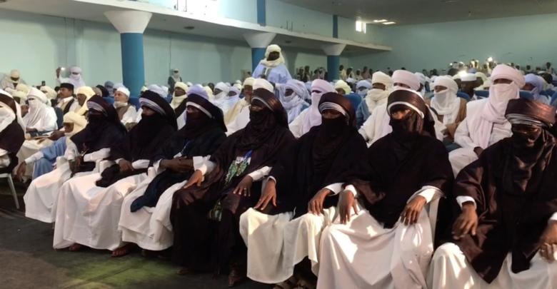 عرس جماعي ومُساعدات مالية لشباب من غات