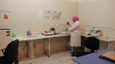 المركز الصحي في بلدية بنت بية