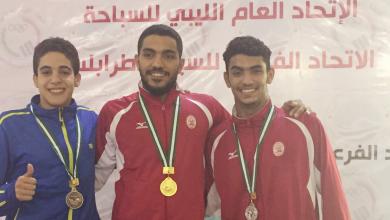 فريق الاتحاد للسباحة في منافسات بطولة طرابلس للسباح