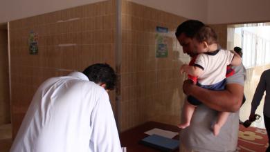 حملة تطعيمات إجبارية للأطفال في بني وليد