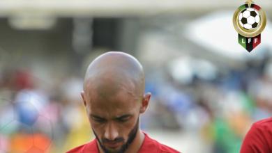 اللاعب الليبي أحمد بن علي