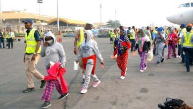 ترحيل 141 نيجيريا من ليبيا إلى بلادهم