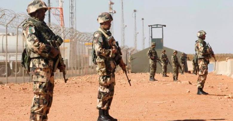 الحدود الليبية مع الجزائر