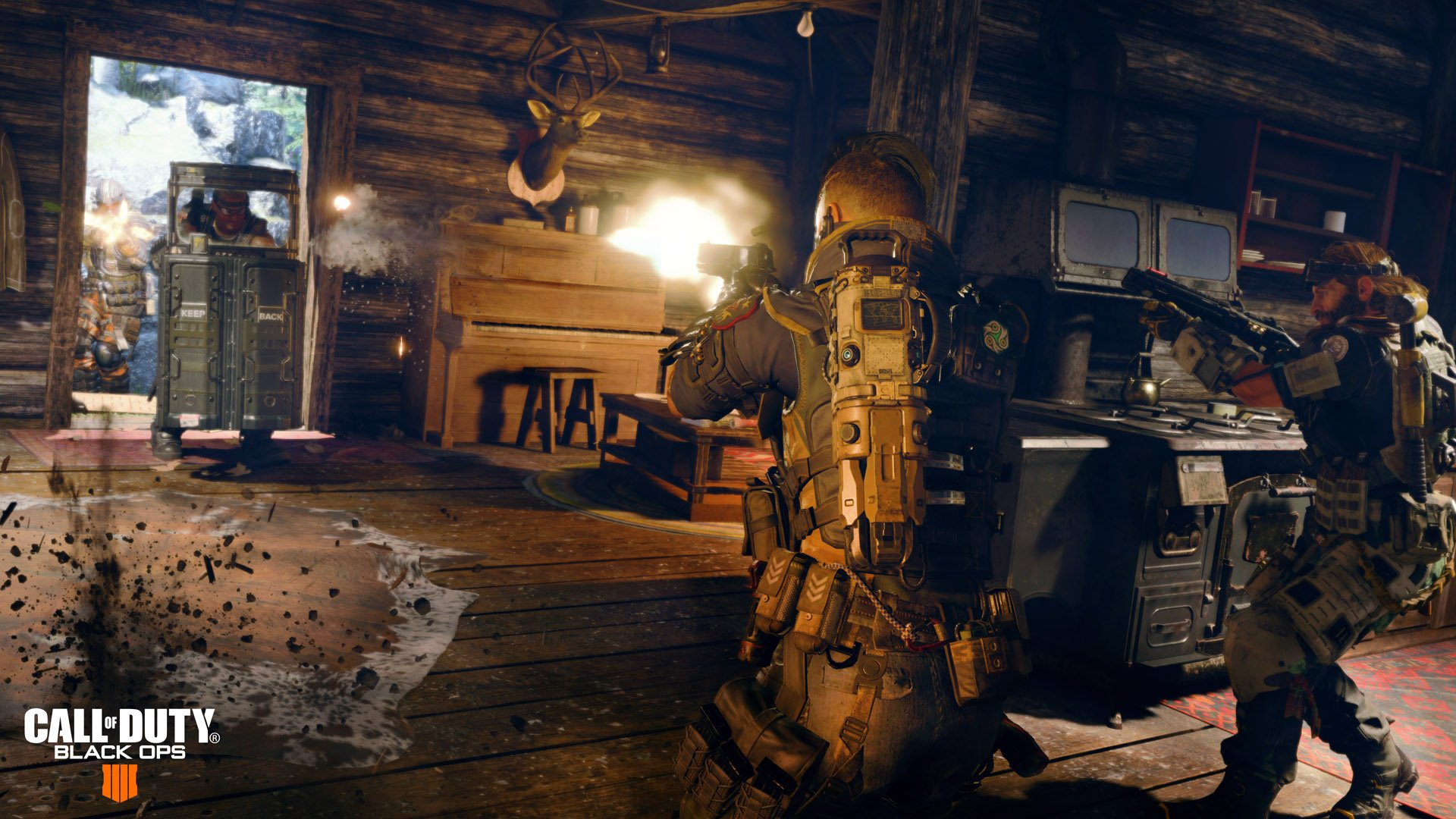 طور Blackout في لعبة Call of Duty : Black Ops 4