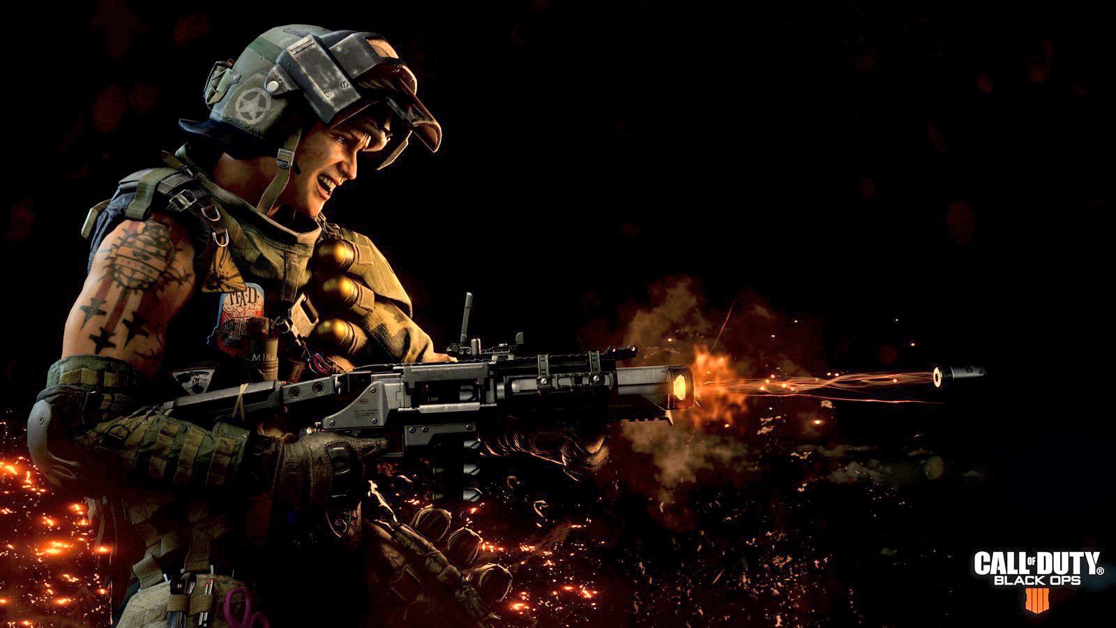 لعبة Call of Duty : Black Ops 4