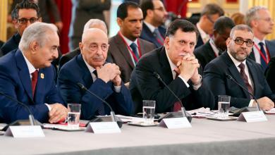 مؤتمر باريس حول ليبيا- شهر مايو الماضي