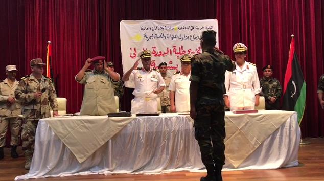 تخريج أول دفعة غطاسين - القوات البحرية
