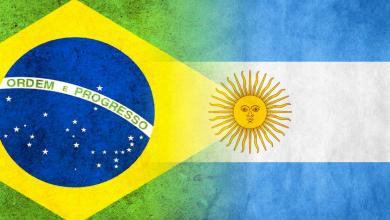 منتخبي البرازيل والأرجنتين