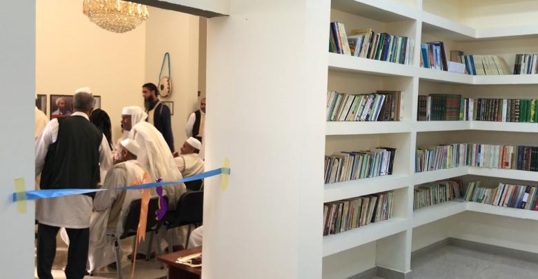 افتتاح النادي الثقافي في الزنتان