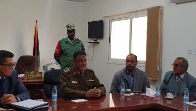 جامعة أجدابيا تتسلم مقرا جديدا من آمر منطقة الخليج العسكرية