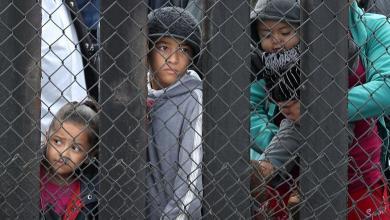 الأطفال المهاجرين