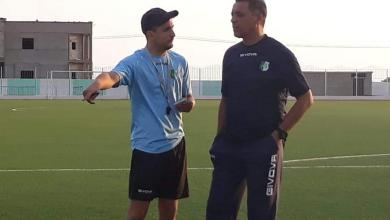 """المدرب """"بيدرو مينديز"""" والمُعد البدني """"أليكسيس"""""""