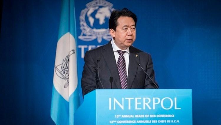 الرئيس السابق للإنتربول مينغ هونغوي