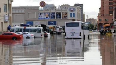 """صورة العاصمة الكويتية """"غَرِقت"""".. و""""شلل تام"""" طال الأجواء"""