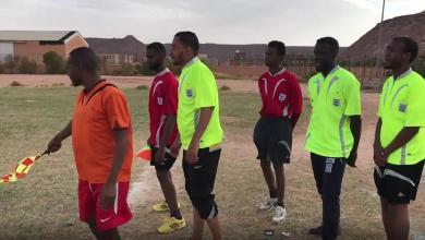 Photo of دورة تدريبيىة لحكام كرة القدم بأوباري