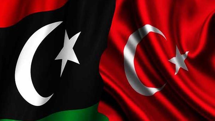 تركيا - ليبيا