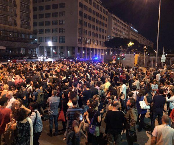 تظاهرة طلابية - باليرمو صقلية