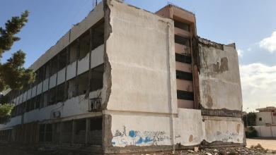 صورة مدرسة الوحدة في طرابلس مُهددة بالسقوط